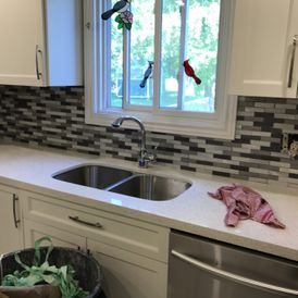 window above kitchen sink